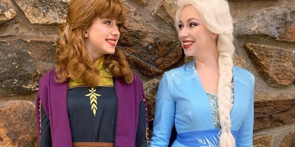 Black Friday Special - Elsa & Anna Video Calls