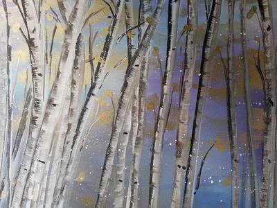 Winter Birch