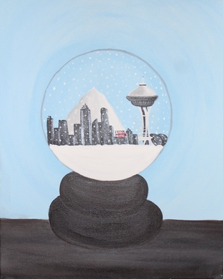 Seattle Snowglobe