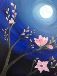 Moonlit Magnolias