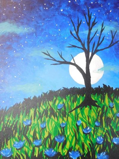 Moonlight Tree