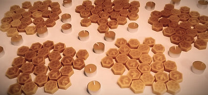 Beeswax scented melts