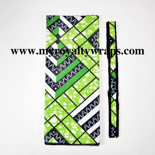 Emerald Wrap & Choker set