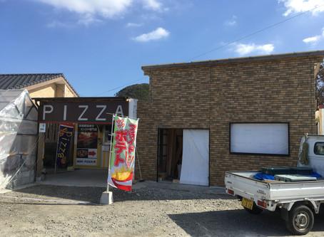 NORIPIZZA店舗改装中!店内で出来立てピッツァが食べられるようになります!
