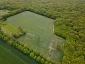 Beaufort Drone photo d'une parcelle cult