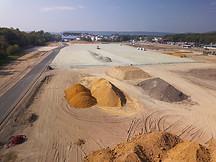 Suivi chantier btp drone Rouen