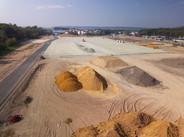 Suivi de chantier btp par drone près de Rouen
