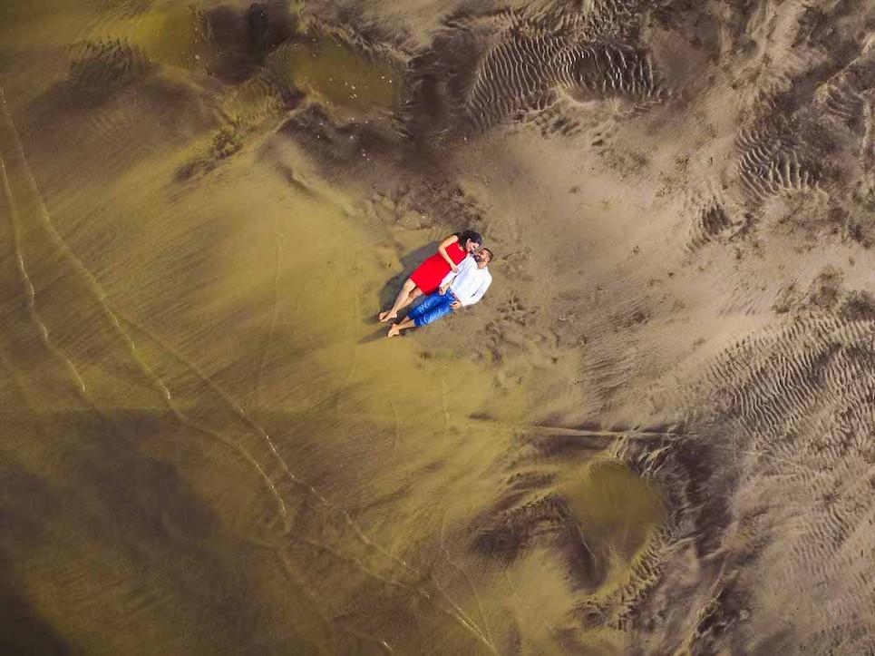 Exemple de photo aérienne lors d'anniversaire mariage évenement privé entreprise seminaire