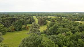 Photo drone paysage propriete bois Poiti