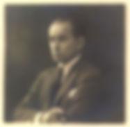 Portrait du peintre argentin Florencio Molina Campos, vu ar Kamyno