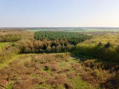 Beaufort Drone photo vue du ciel d'une p
