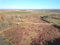 Beaufort Drone photo d'une parcelle en f
