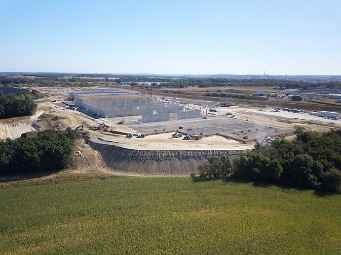Suivi chantier btp drone Poitiers 3