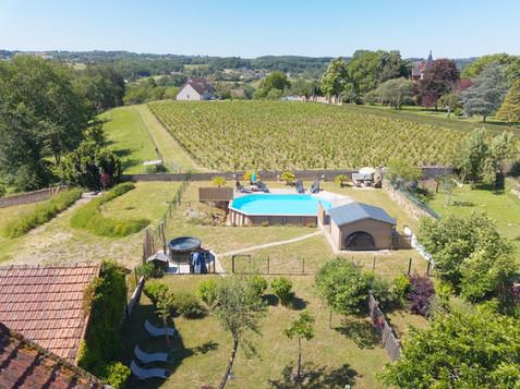 Photo par drone pour agence immobilière à Poitiers Vienne 86