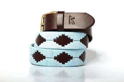 SKY, Argentina Polo Belt, Brown leather, Unisex