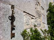 Porte clé gaucho cuir Kamyno