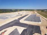 Photo de suivi de chantier par drone à Niort, Deux-Sèvres 79