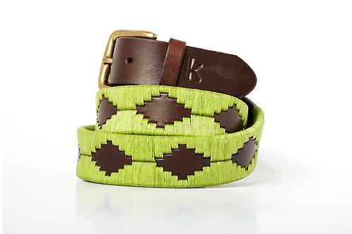 Polo belt Pistachio
