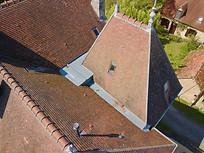 Beaufort Drone photo inspection de toiture Tours Loches Touraine chantier travaux