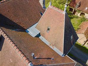 Beaufort Drone photo vidéo inspection de toiture controle tiile ardoise couvreurs artisan travaux suivi chantier