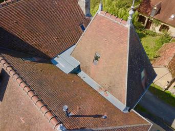 e de château par drone à Tours en Indre et Loire 37.