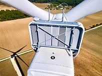 Inspection photo par drone d'un parc éolien à Angoulême, Charente 16.