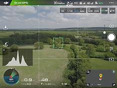 Ecran de contrôle Beaufort Drone Inspecion Photo Vidéo a Chateauroux