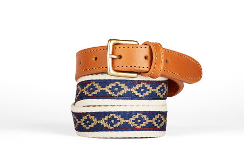 Cotton fabric polo belt