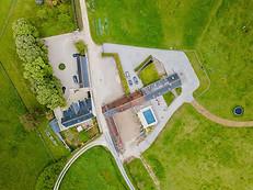 Beaufort Drone photo agence immobilière Sologne
