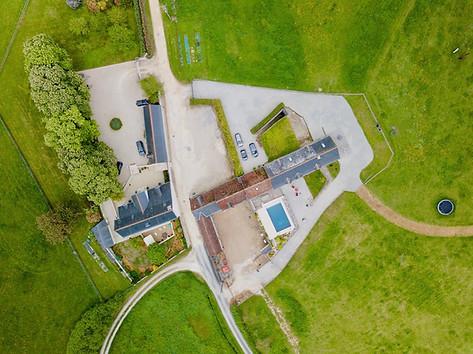 Photo par drone pour agence immobilière en Sologne 41 Loir et Cher