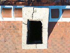 Beaufort Drone photo d'une cheminée lors