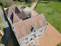 Beaufort Drone inspection de toiture par drone préparation suivi de chantier aérien Chateau en Berry