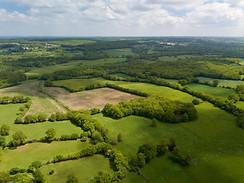 Beaufort Drone photo aérienne campagne Berrichonne