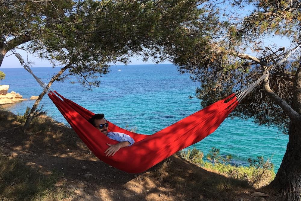 Premium cotton hammock