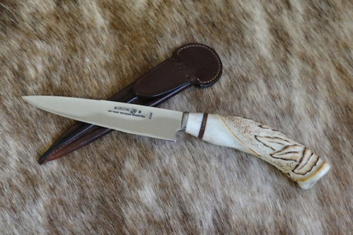 Bois de cerf - Lame 12 cm - Couteau gaucho