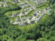 Exemple d'une photographie par drone pou