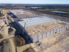 Suivi de chantier btp par drone à Tours, Indfre et Loire 37