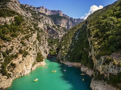 Exemple de prise de vue par drone d'activité sportive nautique plein air canöé paddle à Tours Indre et Loire 37
