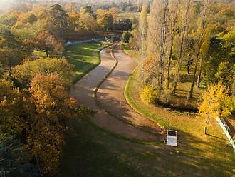 Photo Beaufort Drone Bois de Boulogne BTP