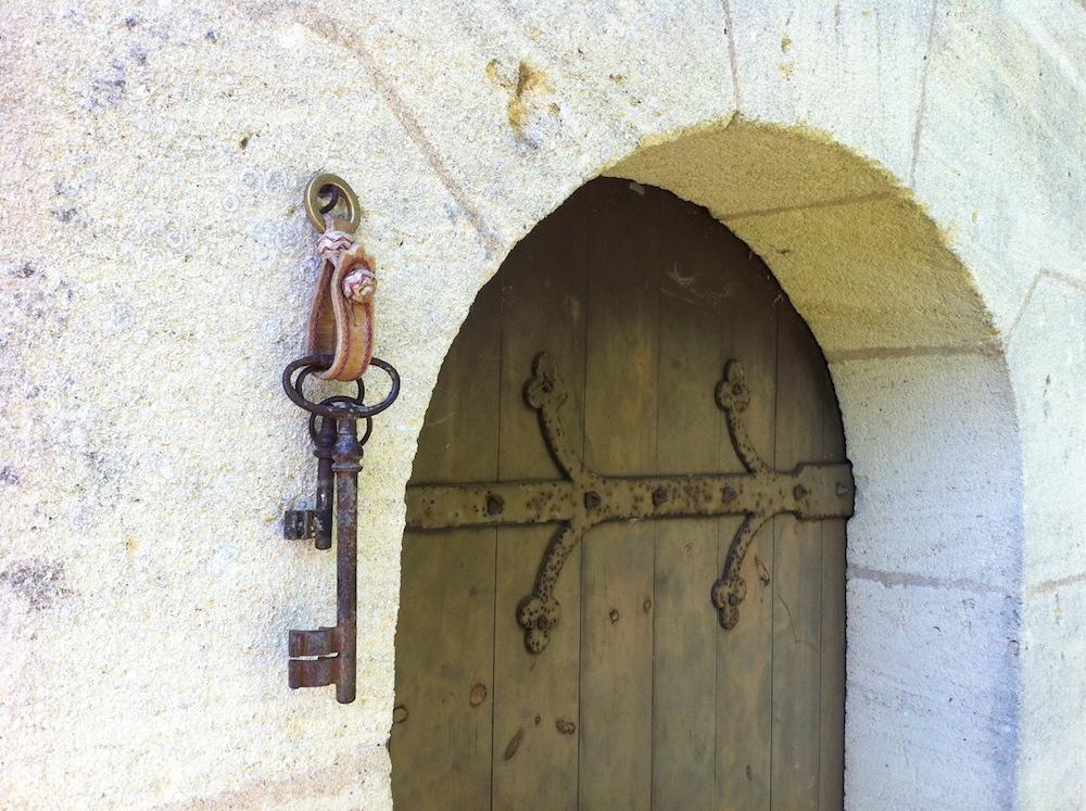 Gaucho leather key ring Kamyno