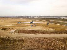 Suivi de chantier construction BTP par drone à Poitiers