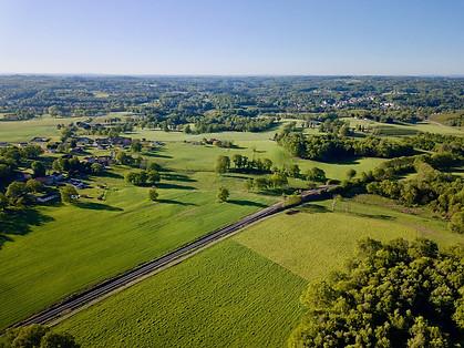 Beaufort Drone photo campagne et paysage en Limousin Limoges Montmorillon