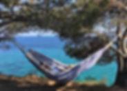 Hamac en coton premium - Collection Kamyno. Résistant et confortable, rapide à monter, facile à transporter, taille double, intérieur extérieur, lavable en machine, Pinamar