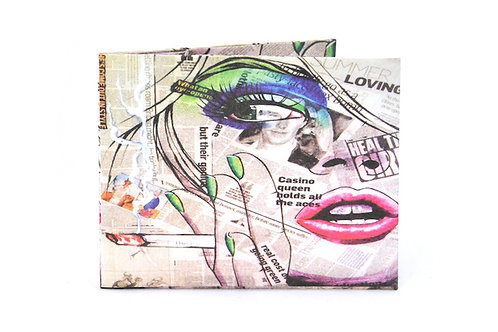 Tyvek paper wallet DIARIO POP