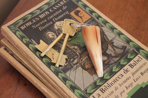 Porte clés en corne argentine Kamyno