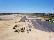 Photo de suivi de chantier par drone à Poitiers dans la Vienne 86