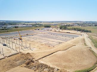 Pilote drone suivi chantier Poitiers Vienne