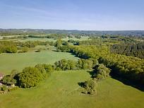 Beaufort Drone photo d'un territoire domaine de chasse Touraine Tours Chateaudun Chinon Loches propriété agence immobilière