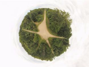 Photo et vidéo panoramique 360° par drone, annonces immobilières à Tours, Indre et Loire 37