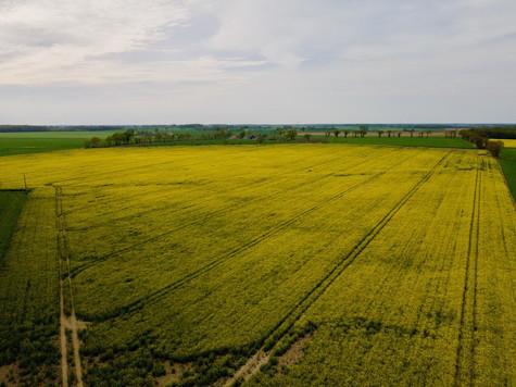 Beaufort Drone photo d'une grande parcel
